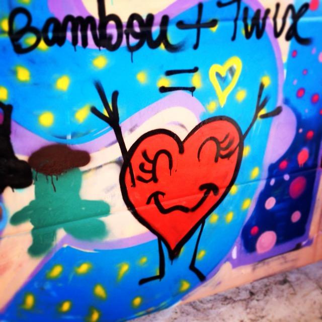 Ateliers peinture/graffiti pour les enfants